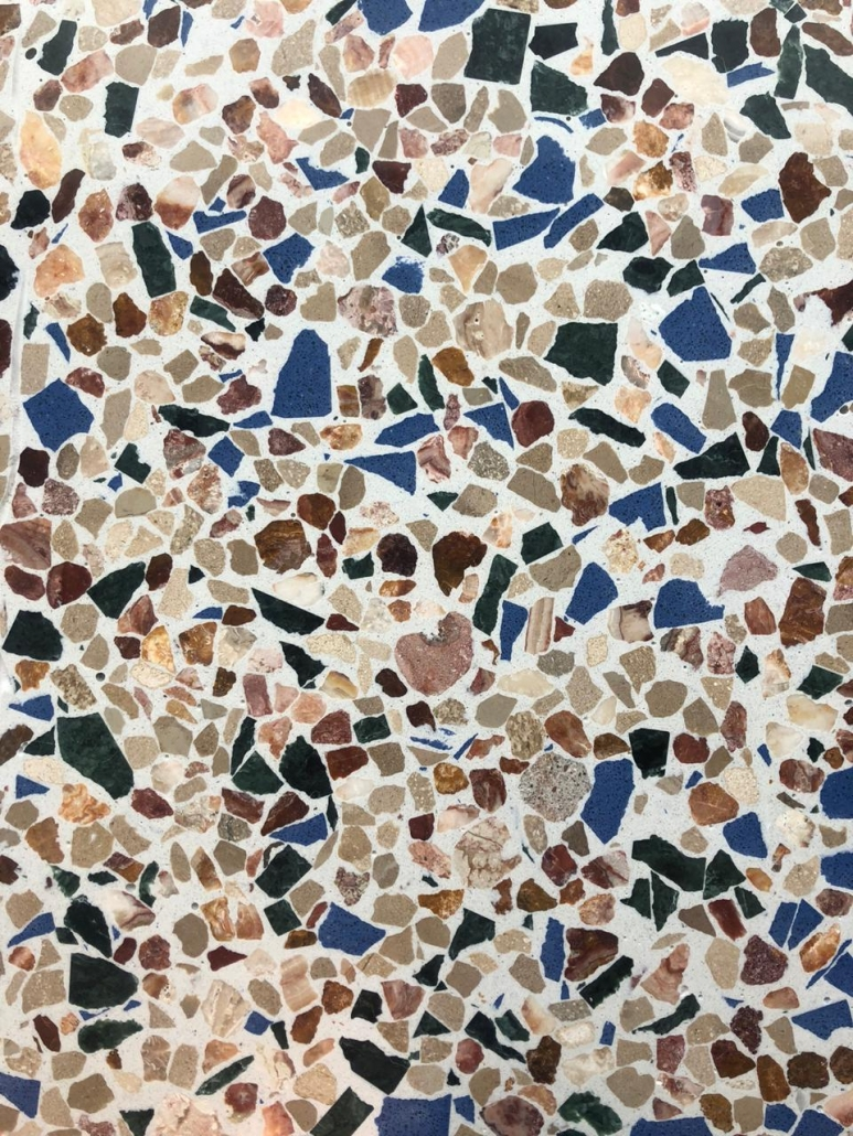 Terrazo multi color